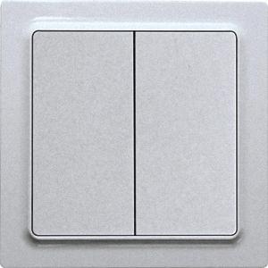 ELTAKO – Funktaster - Doppelwippe F4T55E-al (alu lackiert)