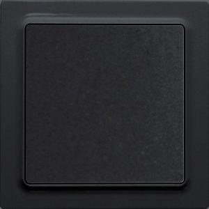 ELTAKO – Funktaster - Einzelwippe F2T55E-sg (schwarz glänzend)