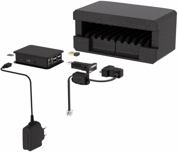 PAW – MCom-Kommunikationsset Raspberry Pi Bplus inkl. ISO