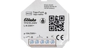 ELTAKO – Tipp-Funk-Relaisaktor - TF61R-230V