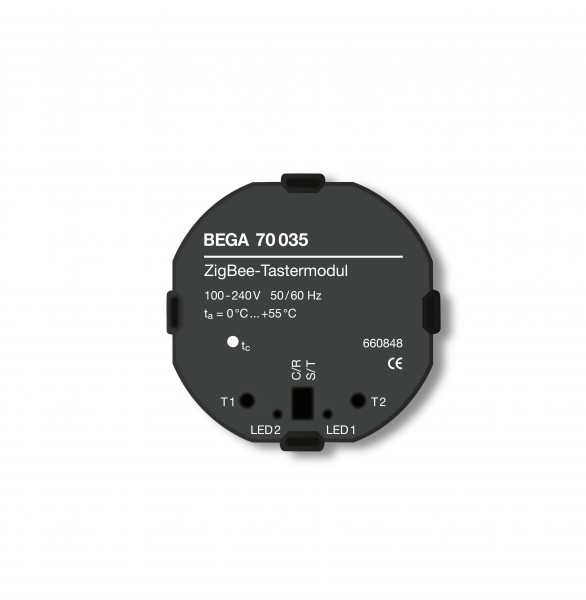 BEGA – Tastermodul - 2 Tasterkontakte - 70 035