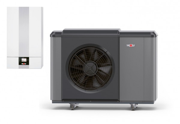 WOLF – Luft/Wasser-Wärmepumpe CHA-Monoblock 10/400V