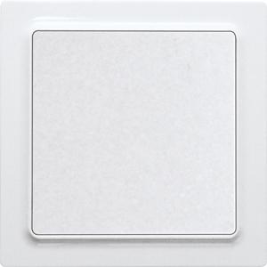 ELTAKO – Funktaster - Einzelwippe F2T55E-gw (glänzend weiß)