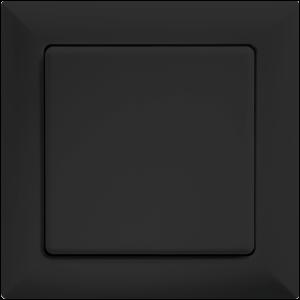 ELTAKO – Funktaster - Einzel-/Doppelwippe - FT55-sz (schwarz)