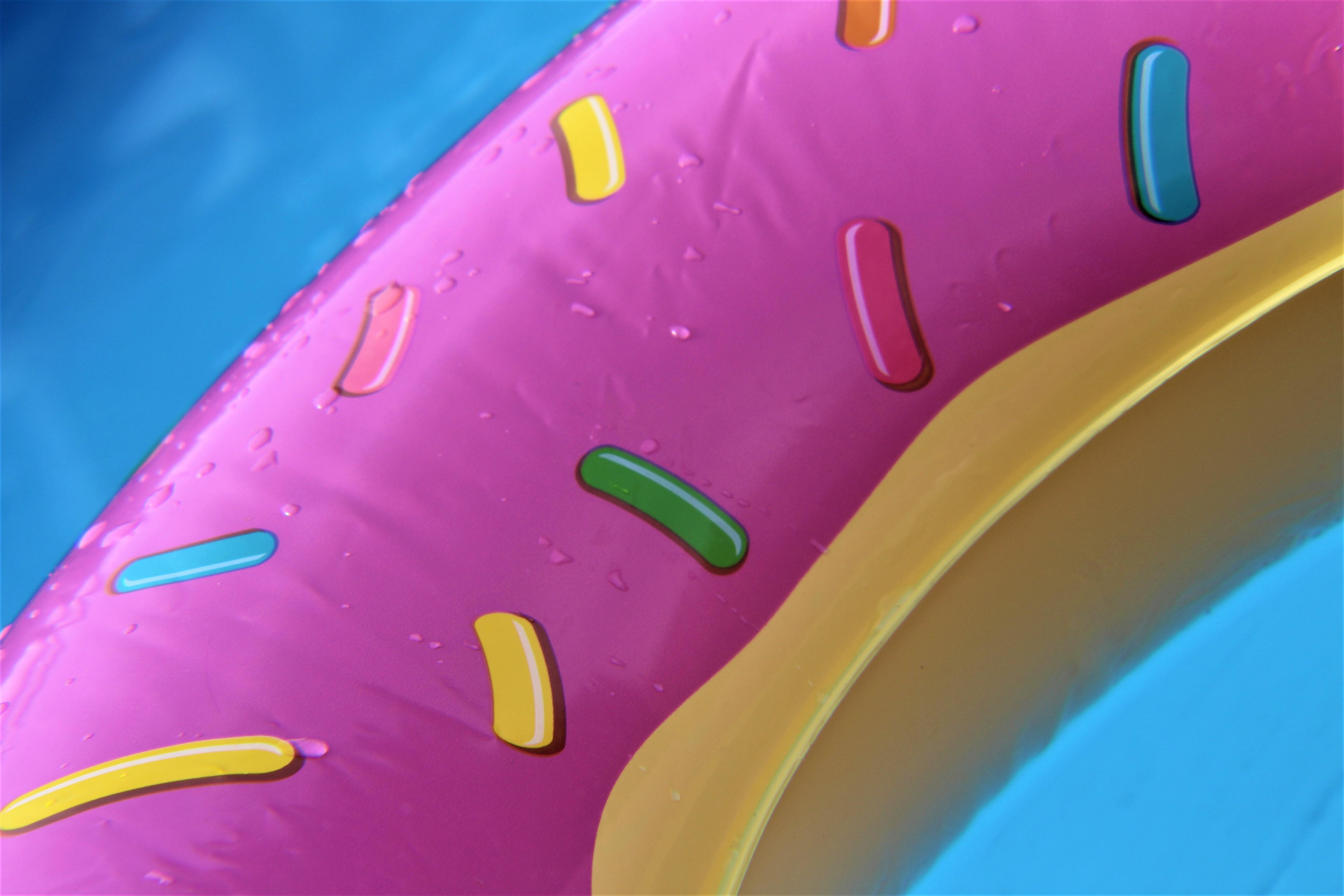 Foto von einem Donut
