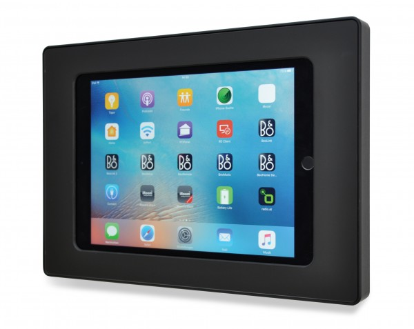 iRoom – Fixed On-Wall | surDock-iPad-mini | iPad mini 1-5 | Dockingstation, black