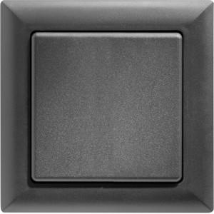 ELTAKO – Funktaster - Einzel-/Doppelwippe - FT55-an (anthrazit)