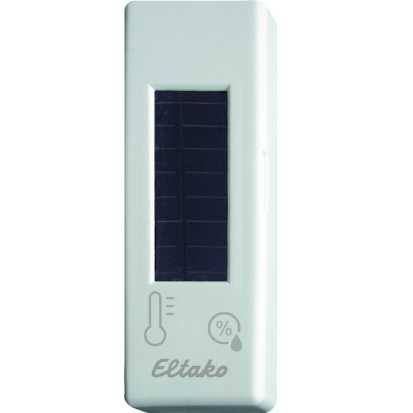 ELTAKO – Funk-Temperatur-Feuchtesensor - FTFSB-wg (reinweiß-glänzend)