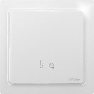 ELTAKO – Feuchte-Temperatursensor - FFT65B-wg (reinweiß-glänzend / ehem. TF-FTSB)
