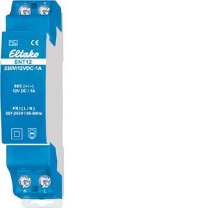 ELTAKO – Schaltnetzteil - SNT12-230V/12V DC-1A