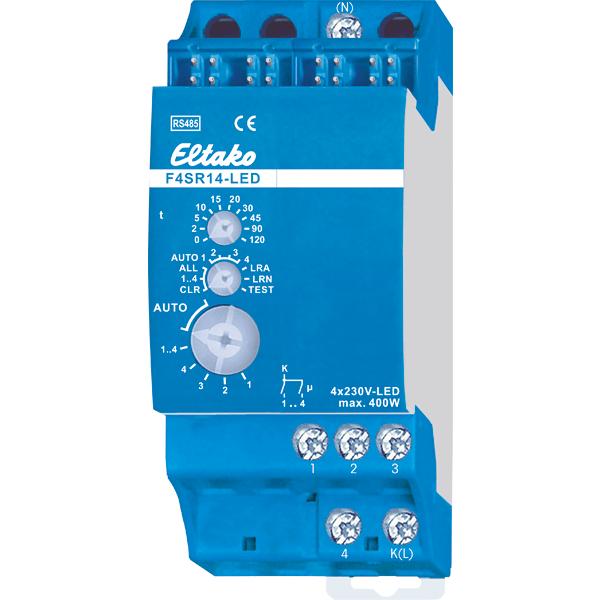 ELTAKO – Stromstoß-Schaltrelais - 4-Kanal - F4SR14-LED