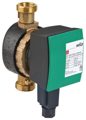 WILO – Trinkwasser-Zirkulationspumpe - Wilo-Star-Z NOVA-SmartHome