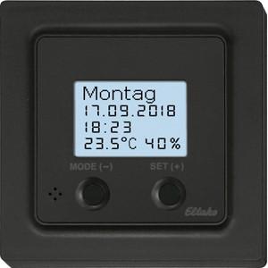 ELTAKO – Funksensor Uhren-Thermo-Hygrostat - FUTH55D/230V-am (anthrazit matt)