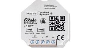ELTAKO – Tipp-Funk-Universal-Dimmaktor - TF61D-230V
