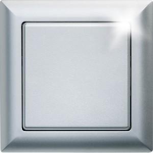 ELTAKO – Funktaster - Einzel-/Doppelwippe - FT55-al (alu lackiert)