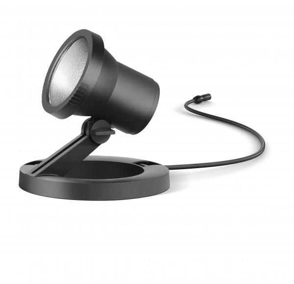 BEGA – LED-Gartenscheinwerfer mit Ringsockel - 24 368