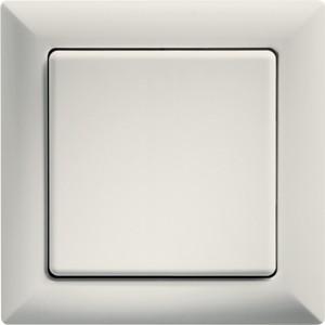 ELTAKO – Funktaster - Einzel-/Doppelwippe - FT55-ws (weiß)