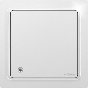 ELTAKO – Luftgüte-Temperatur-Feuchte-Sensor - FLGTF65-wg (reinweiß-glänzend / ehem. TF-LGTF)