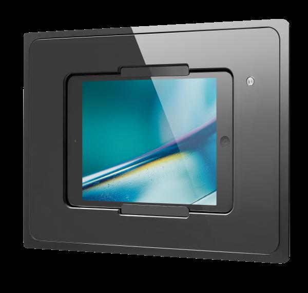 IROOM – iPad Unterputz-Dockingstation - miniDock4-b-m (schwarz)