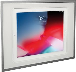 """ELTAKO – iPad Unterputz-Dockingstation - InWall-10-ws (Alu natur / weiß / für iPads 10,2"""" und 10,5"""")"""